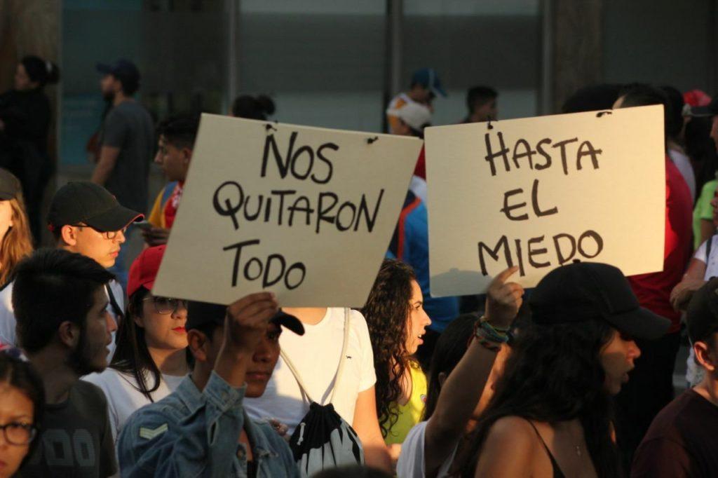 På fem år er 1200 skudt ned i Colombia