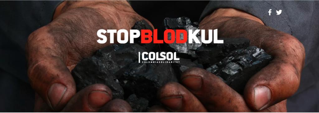 Forside stop blodkul: billede + logo