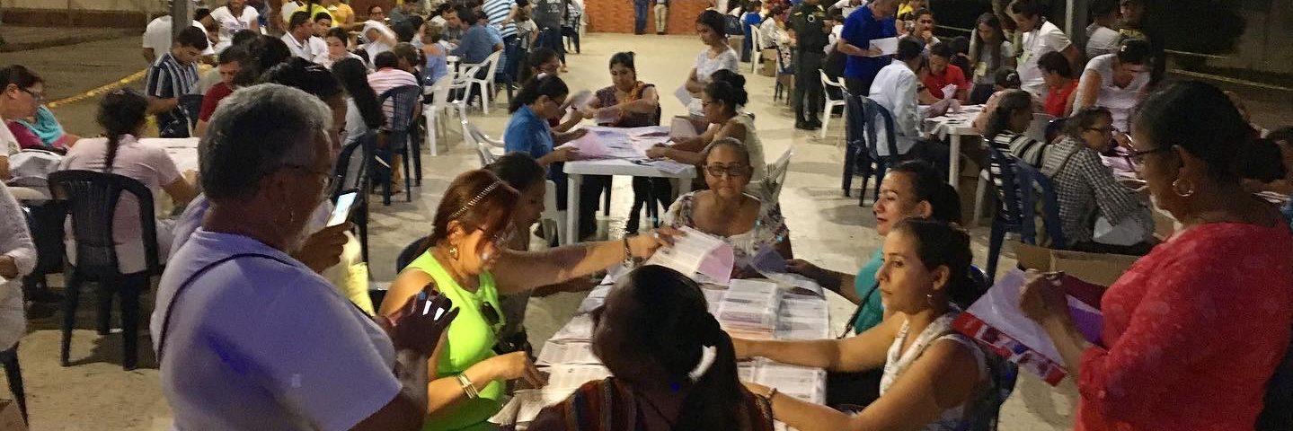 VALGOBSERVATION I COLOMBIA: INTERNATIONAL SOLIDARITET ER AFGØRENDE FOR FREDEN