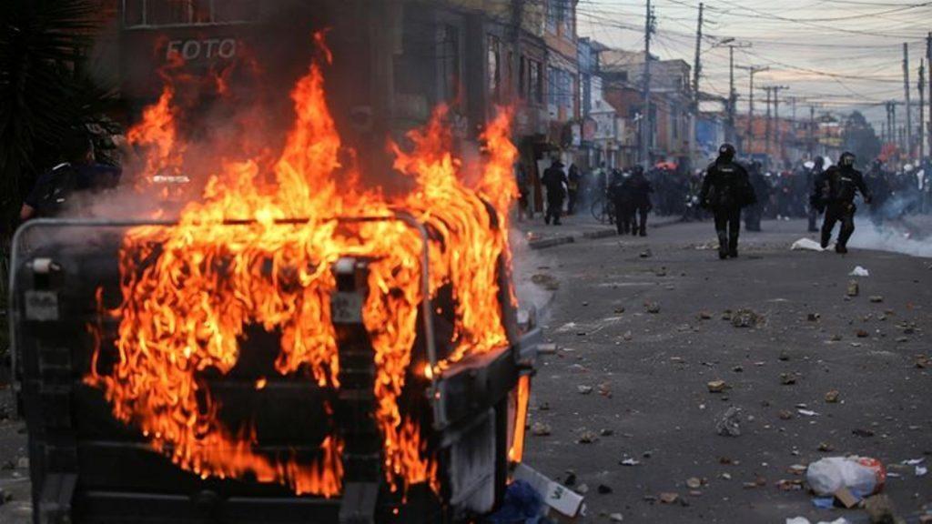 Bogotá i brand